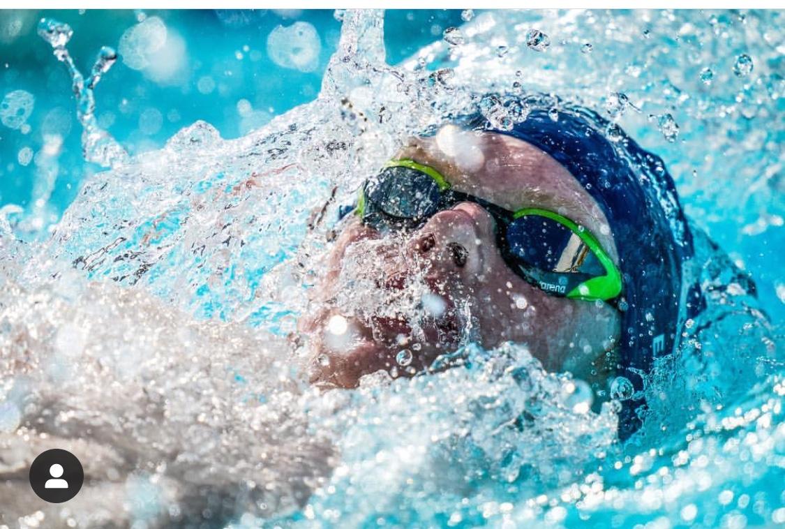 Olav Eklund svømming